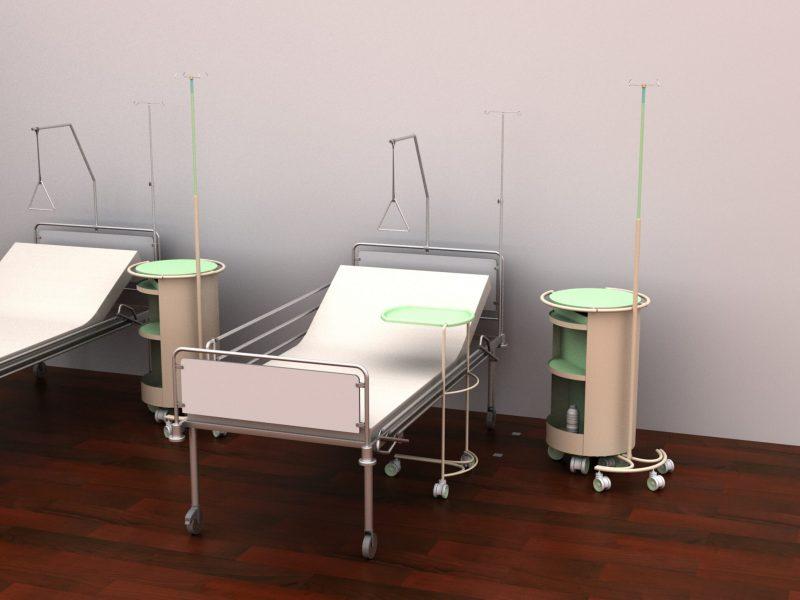 gotowe sala szpitalna